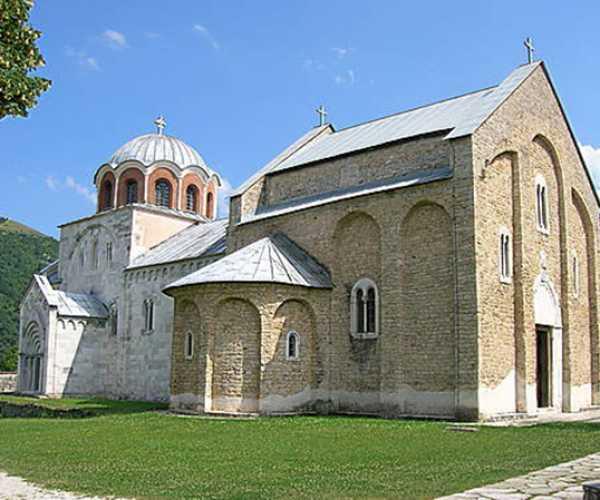 Studenica kolostor - A szerbek egyik legszentebb kegyhelye