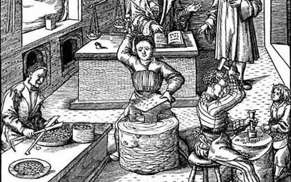 Késő középkori pénzverde