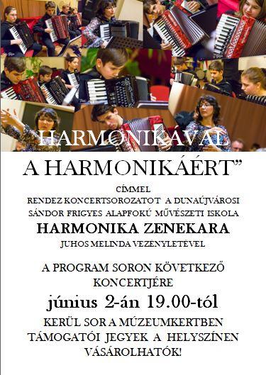 Harmonikával a harmonikáért című jótékonysági koncert